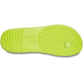 Crocs Classic II Sandalias de Piel, lime punch